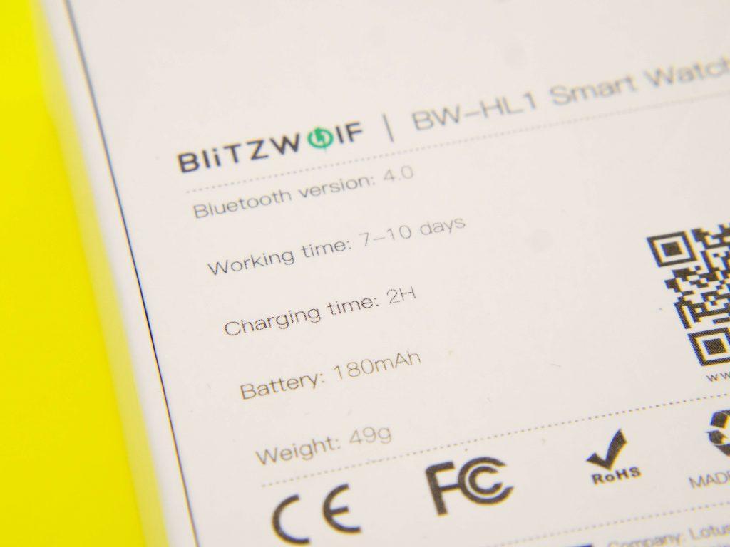 BlitzWolf BW-HL1 rozpakowanie