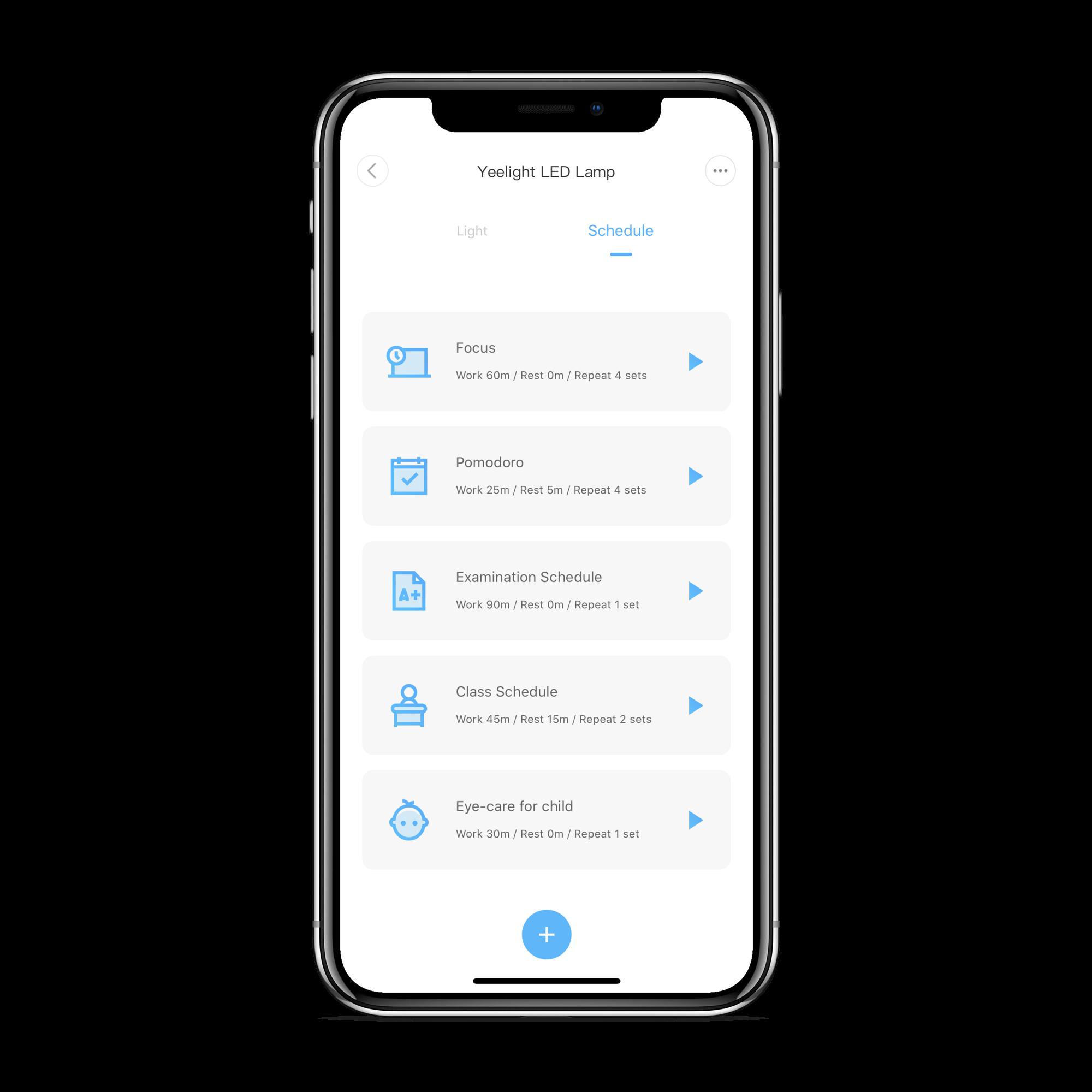 Yeelight LED Pro app4