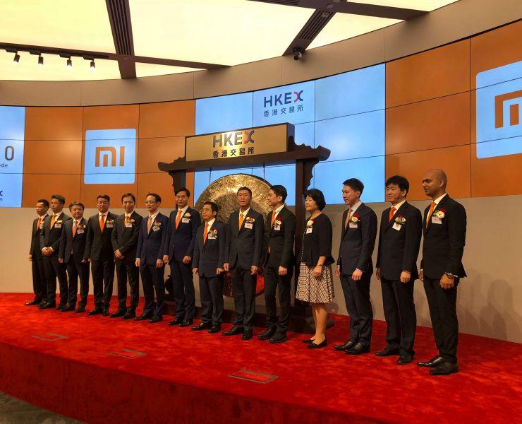 akcje Xiaomi na szczycie