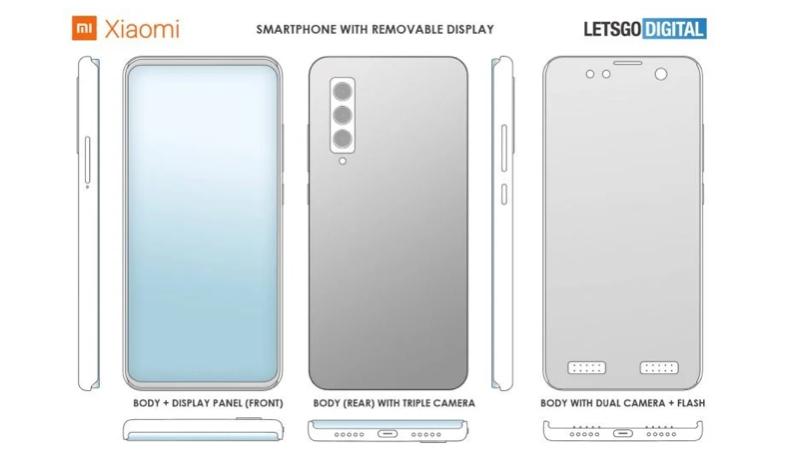 Xiaomi odczepiany ekran